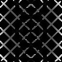 Molecule Dna Genetics Icon