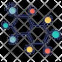 Molecule Nodes Chemistry Icon