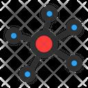 Molecule Biology Structure Icon