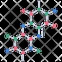 Molecule Molecule Structure Molecules Icon