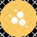 Molecule Hexagons Hexagonal Icon