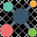 Molecule Atom Bond Icon