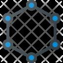 Molecule Structure Atom Icon