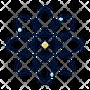 Molecule Atom Icon