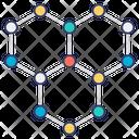 Molecule Bonding Molecule Structure Molecule Network Icon