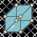 Molecule Bounding Molecule Structure Icon