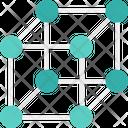 Molecule Cube Shape Cube Molecule Molecule Icon