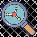 Molecule Search Molecule Exploration Molecule Finding Icon