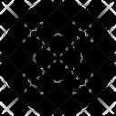 Molecules Cluster Molecular Science Icon