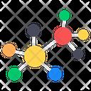 Molecules Chemistry Chemical Bonding Icon
