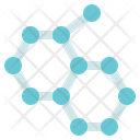 Chemistry Molecules Nano Icon