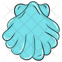 Pearl In Shell Pearl Seashell Icon