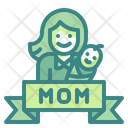 Mom Mother Mother Day Icon