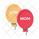 Mom Balloon Icon