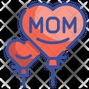 Mom Balloon Icon