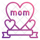 Mom Banner Mother Banner Greeting Icon
