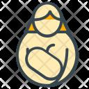 Breast Feed Mom Icon