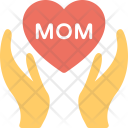 Mom Heart Icon