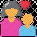 Mon And Son Love Icon