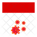 Flag Country Corona Icon