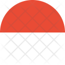 Monaco Flag Country Icon