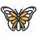 Monarch Insect Bug Icon