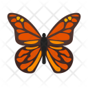 Monarch Butterfly Animal Icon