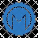 Monero Crypt Currency Icon