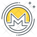 Monero Altcoin Business Icon