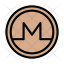 Monero Crypto Currency Icon
