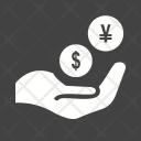 Monetary Help Donation Icon