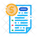 Monetary Agreement Refinance Icon