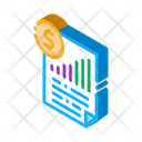 Monetary Statement Document Icon