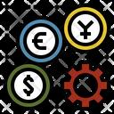 Monetary System Economics Icon