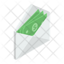 Monetize Cash Envelope Money Latter Icon