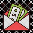 Monetize Cash Envelope Money Envelope Icon