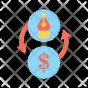 Monetize Graphic Design Icon