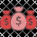 Monetizing Money Earning Icon
