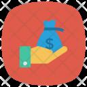 Money Finance Gesture Icon