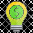 Money Dollar Idea Icon
