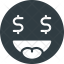 Money Emoji Face Icon