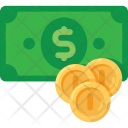 Money Icon in Flat Style