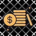 Money Coins Savings Icon