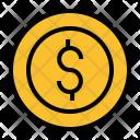 Money Penny Dollar Icon