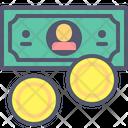 Dollar Coins Dollar Coins Icon