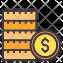 Dollar Money Banknotes Icon