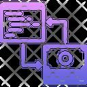 Money Code Development Icon