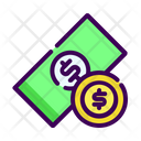 Business Money Coin Icon