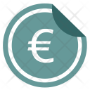 Money Euro Sticker Icon