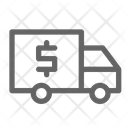 Money Van Truck Icon
